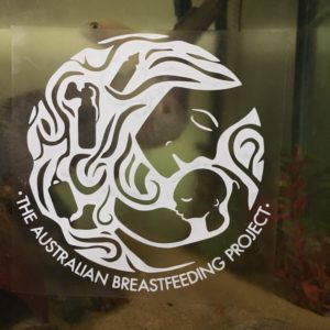 Breastfeeding sticker